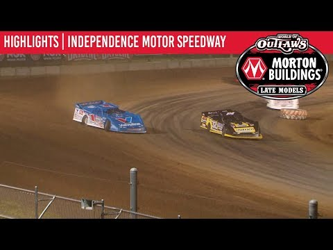 World of Outlaws Morton Buildings Late Models Independence Motor Speedway July 5, 2019   HIGHLIGHTS