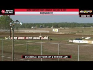 World of Outlaws Morton Buildings Late Models Wayne County Speedway May 18, 2019   MORTON MOMENTS