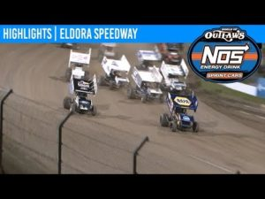 World of Outlaws NOS Energy Drink Sprint Cars Eldora Speedway, July 18th, 2019   HIGHLIGHTS
