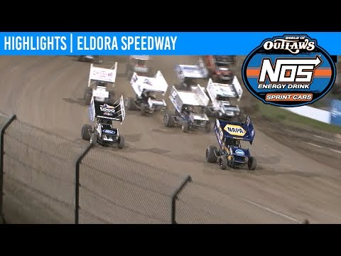 World of Outlaws NOS Energy Drink Sprint Cars Eldora Speedway, July 18th, 2019 | HIGHLIGHTS