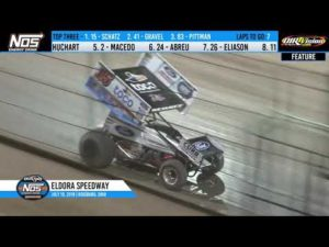World of Outlaws NOS Energy Drink Sprint Cars Eldora Speedway, July 19th, 2019   HIGHLIGHTS