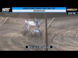 World of Outlaws NOS Energy Drink Sprint Cars Fairbury Speedway June 4, 2019 | DIRTVISION REPLAYS