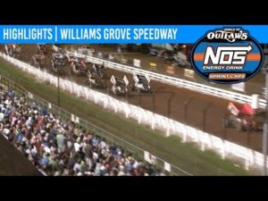 World of Outlaws NOS Energy Drink Sprint Cars Williams Grove Speedway, July 26th, 2019 | HIGHLIGHTS