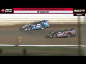 DIRTVISION REPLAYS   Port Royal Speedway August 17th, 2019