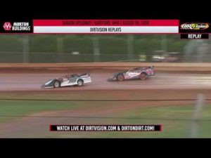 DIRTVISION REPLAYS   Sharon Speedway August 30th, 2019