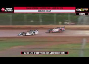 DIRTVISION REPLAYS | Sharon Speedway August 30th, 2019