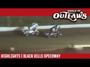 World of Outlaws Craftsman Sprint Cars Black Hills Speedway August 24, 2018   HIGHLIGHTS