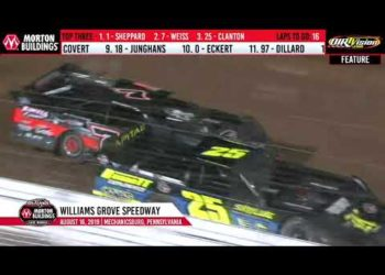 World of Outlaws Late Models Williams Grove Speedway, Aug 16th, 2019 | HIGHLIGHTS
