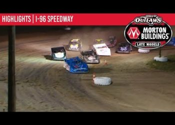 World of Outlaws Morton Buildings Late Models I-96 Speedway, August 29th, 2019   HIGHLIGHTS