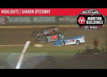 World of Outlaws Morton Buildings Late Models Sharon Speedway, August 30th, 2019 | HIGHLIGHTS
