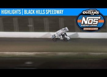 World of Outlaws NOS Energy Drink Sprint Cars Black Hills Speedway, August 23rd, 2019 | HIGHLIGHTS