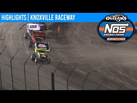 World of Outlaws NOS Energy Drink Sprint Cars Knoxville Raceway, August 10, 2019 | HIGHLIGHTS