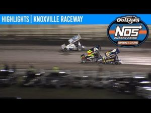 World of Outlaws NOS Energy Drink Sprint Cars Knoxville Raceway, August 8, 2019   HIGHLIGHTS