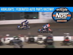 World of Outlaws NOS Energy Drink Sprint Cars Pevely, Missouri, August 2, 2019   HIGHLIGHTS
