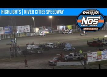 World of Outlaws NOS Energy Drink Sprint Cars River Cities Speedway, August 16th, 2019 | HIGHLIGHTS