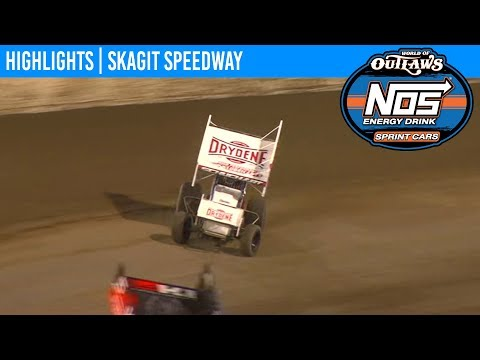 World of Outlaws NOS Energy Drink Sprint Cars Skagit Speedway, August 30th, 2019 | HIGHLIGHTS