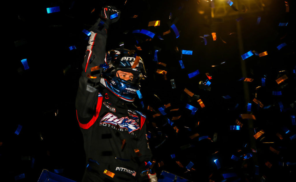 SOLID GOLD: Daryn Pittman wins second Gold Cup with