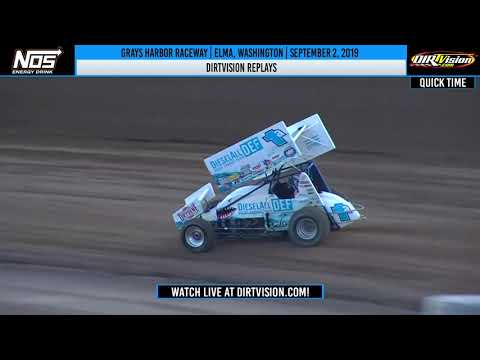 DIRTVISION REPLAYS | Grays Harbor Raceway September 2nd, 2019