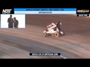 DIRTVISION REPLAYS   Knoxville Raceway August 8, 2019