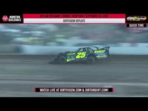 DIRTVISION REPLAYS | Outlaw Speedway September 20th, 2019
