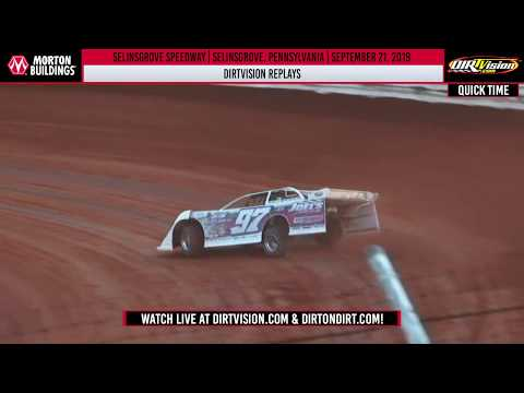 DIRTVISION REPLAYS | Selinsgrove Speedway September 21st, 2019