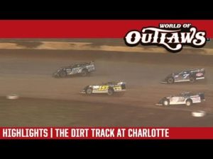 World of Outlaws Craftsman Late Models The Dirt Track at Charlotte November 3, 2018 | HIGHLIGHTS