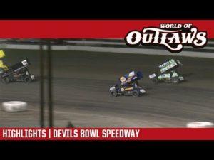 World of Outlaws Craftsman Sprint Cars Devils Bowl Speedway April 28, 2018   HIGHLIGHTS