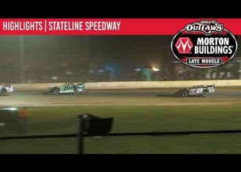 World of Outlaws Morton Buildings Late Models Stateline Speedway, September 19th, 2019 | HIGHLIGHTS