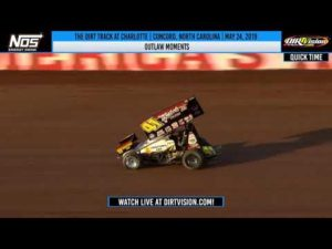 World of Outlaws NOS Energy Drink Sprint Cars at Charlotte May 24, 2019 | OUTLAW MOMENTS