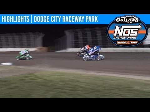 World of Outlaws NOS Energy Drink Sprint Cars Dodge City Raceway, September 20th, 2019 | HIGHLIGHTS