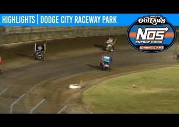 World of Outlaws NOS Energy Drink Sprint Cars Dodge City Raceway, September 21st, 2019 | HIGHLIGHTS