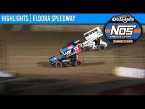 World of Outlaws NOS Energy Drink Sprint Cars Eldora Speedway, September 27th, 2019 | HIGHLIGHTS