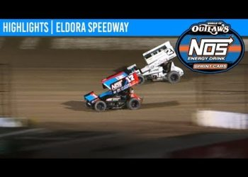 World of Outlaws NOS Energy Drink Sprint Cars Eldora Speedway, September 27th, 2019 | HIGHLIGHTS