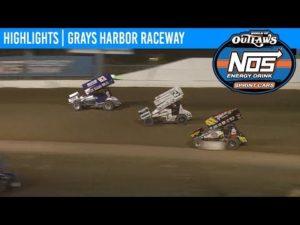 World of Outlaws NOS Energy Drink Sprint Cars Grays Harbor Raceway, September 2nd, 2019   HIGHLIGHTS