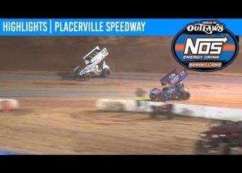 World of Outlaws NOS Energy Drink Sprint Cars Placerville Speedway September 11th, 2019 | HIGHLIGHTS