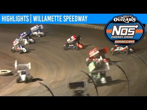 World of Outlaws NOS Energy Drink Sprint Cars Willamette Speedway, September 4th, 2019 | HIGHLIGHTS