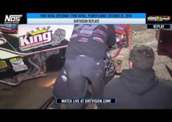 DIRTVISION REPLAYS | Port Royal Speedway October 25th, 2019