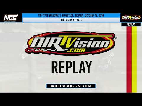 DIRTVISION REPLAYS | Tri-State Speedway October 13th, 2019