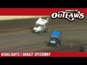 World of Outlaws Craftsman Sprint Cars Skagit Speedway August 31, 2018 | HIGHLIGHTS