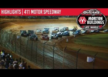 World of Outlaws Morton Buildings Late Models 411 Motor Speedway, October 5th, 2019 | HIGHLIGHTS
