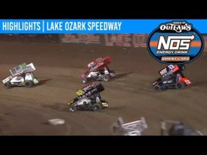 World of Outlaws NOS Energy Drink Sprint Cars Lake Ozark Speedway, October 19th, 2019   HIGHLIGHTS