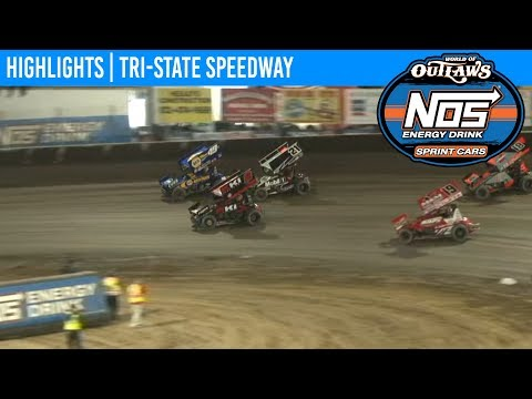 World of Outlaws NOS Energy Drink Sprint Cars Tri-State Speedway, October 13th, 2019 | HIGHLIGHTS