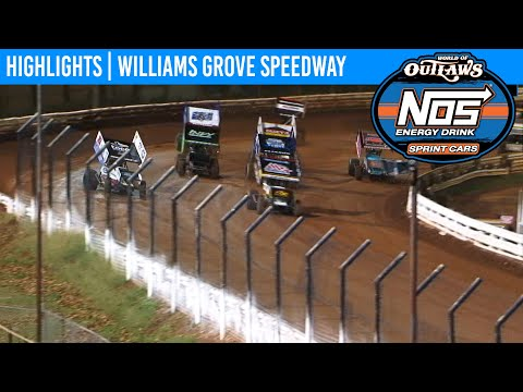 World of Outlaws NOS Energy Sprint Cars Williams Grove Speedway, Oct 4th, 2019 | HIGHLIGHTS