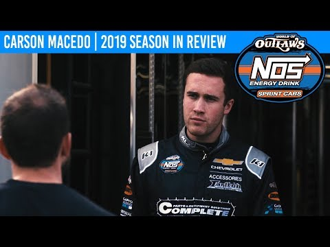 Carson Macedo | 2019 World of Outlaws NOS Energy Drink Sprint Car Series Season In Review