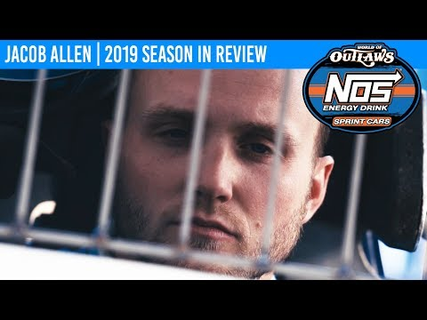 Jacob Allen | 2019 World of Outlaws NOS Energy Drink Sprint Car Series Season In Review
