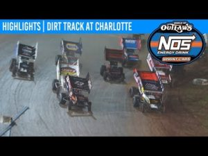 World of Outlaws NOS Energy Drink Sprint Cars Dirt Track at Charlotte, November 8, 2019   HIGHLIGHTS