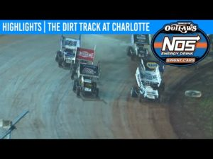 World of Outlaws NOS Energy Sprint Cars The Dirt Track at Charlotte, Nov 9th, 2019 | HIGHLIGHTS