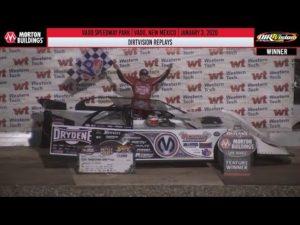 DIRTVISION REPLAYS | Vado Speedway Park January 3rd, 2020