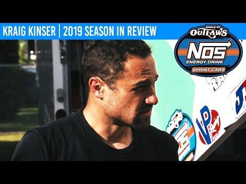 Kraig Kinser | 2019 World of Outlaws NOS Energy Drink Sprint Car Series Season In Review