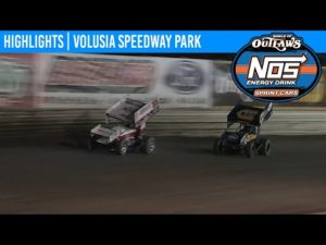 World of Outlaws NOS Energy Drink Sprint Cars Volusia Speedway Park, February 7th, 2020   HIGHLIGHTS